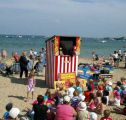 Punch & Judy show on the beach